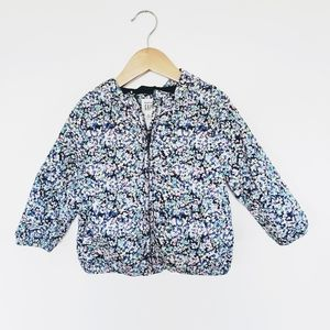 Gap Kids | Floral Print Lined Raincoat + Hoodie